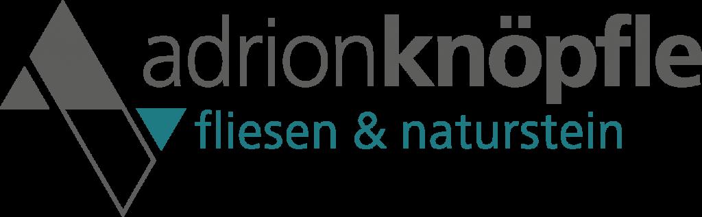 Logo Adrion Knöpfle Fliesen Naturstein